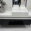 Купить мебель в ванную с крашеными фасадами в Сочи