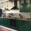 Кухня с фасадами МДФ фрезерованными, глянцевый лак (2)