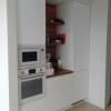 Белая встроенная кухня в Сочи