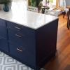 Синяя кухня на заказ в Сочи