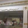декоративные МДФ элементы с позолотой в Сочи